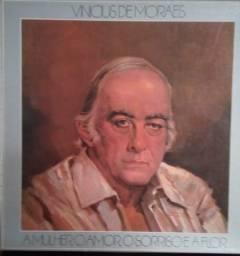 Disco de vinil usado Vinicius de Moraes ( caixa com 4 discos)