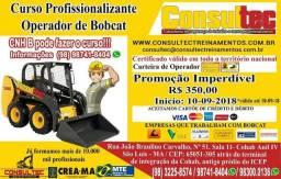Curso para Operador de Mini Carregadeira (BobCat) Inicio 10-09-2018 Fone (98)98741-8404