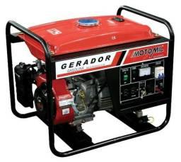 Gerador de Energia à Gasolina 4T Partida Manual 2,5 Kva 110/ 220 V -MG3000CL