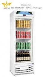 Expositora vertical 1 porta de vidro, conservador de cerveja, cervejeira, visa cooler