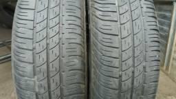 2 pneus 175x65x14 seminovos Pirelli