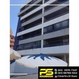( imbatível ) - apartamento gigante com 4 suítes na praia de intermares