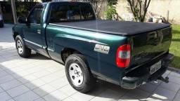 S10 Cab simples 4x2 GNV top - 2001