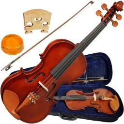 Violino Hofma HVE241 4/4 Novo+Nf+Garantia Loja!
