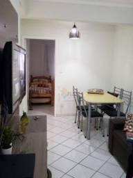Apartamento com 2 dormitórios à venda, 54 m² por R$ 195.000 - Canto do Forte - Praia Grand