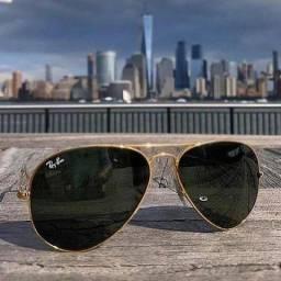 Promoção de Óculos Aviador RayBan Proteção UV400