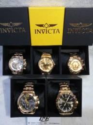 Relógios de luxo INVICTA