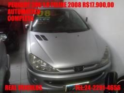Peugeot 206 Feline 1.6 ,automático,2008, Muito novo, aceito troca e financio - 2008