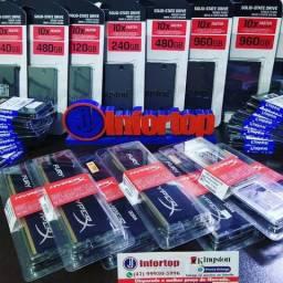 "Memoria Kingston HyperX 4GB ddr4 Preta ""Lacrada"""