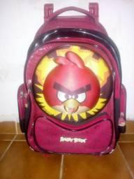 Bolsa infantil com rodinhas Angry birds