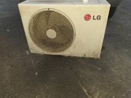 Ar condicionado Split 18000 BTUs LG funcionando