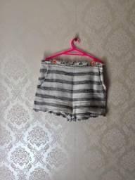Short Zara cintura alta