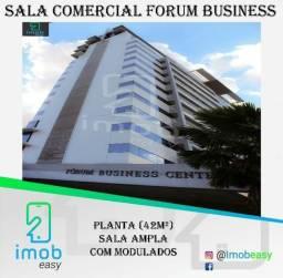 Alugo Sala no Forum Business, sala ampla com bela vista