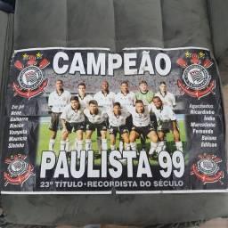 PÔSTET CORINTHIANS CAMPEÃO PAULISTA 1999