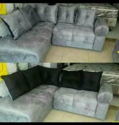 Promoção , sofa em L 670 Novo c/entregá
