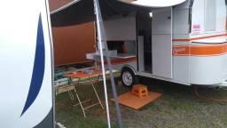 Trailer reboque camping dobrável
