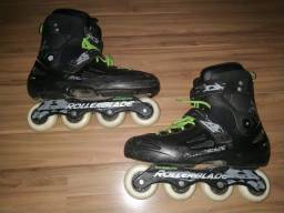 Patins RollerBlade Fusion X3 numero 46 BR