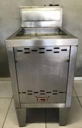 Fritadeira Venâncio 70 litros, Água e Óleo