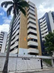Apartamento com 3 dormitórios para alugar, 146 m² por R$ 2.100/mês - Meireles - Fortaleza/