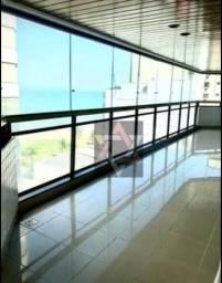Frente, quadra do mar da Praia da Costa, 4 suites, 3 vagas, agende sua visita!