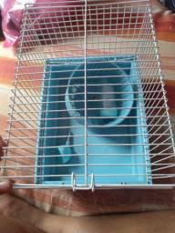 Gaiola de trasporte para hamster