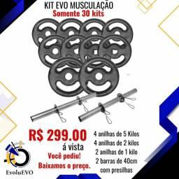 Kit Evo MUSCULAÇÃO