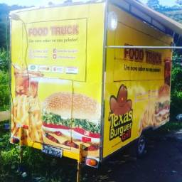 Trailler Food Truck para lanches completo