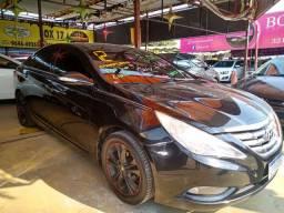 Sonata 2012 automático + GNV Entr: + 48x827,00 teto solar