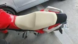 Troco capa de banco de moto