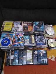 DVDs vários temas 4 por 1 real
