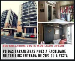 Pq das Laranjeiras 02qts Mobiliado prox à Faculdade Nilton Lins