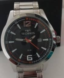 Relógio Masculino Tecnhos Prata