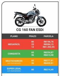 Título do anúncio: NOVA CG 160 FAN ANO 2020