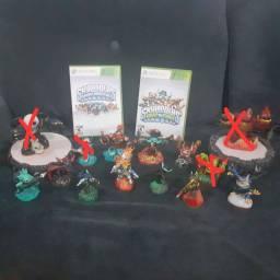 Jogos Skylanders + Portais + Bonecos