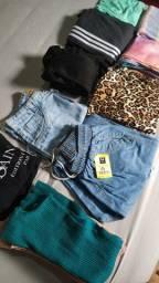 Lote de roupas novas a preço de custo
