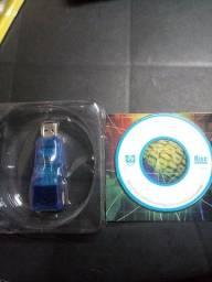 Adaptador USB para cabo de rede