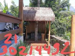 Choupana piaçava em mangaratiba 2130214492 Quiosques