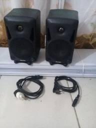 Monitor de áudio para Estúdio de Gravação