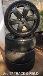 Vendo jogo de Rodas aro 17 com pneus