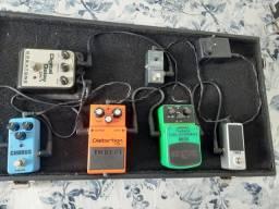 Set de pedais para guitarra