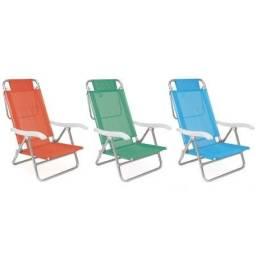 Cadeira de Praia Mor Reclinável Summer