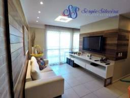 Título do anúncio: Apartamento no Porto das Dunas com 3 quartos e projetado térreo Mediterranee Residence