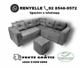 sofá 2x2 de fábrica