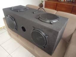 Título do anúncio: Caixa de som sem amplificador 300 reais