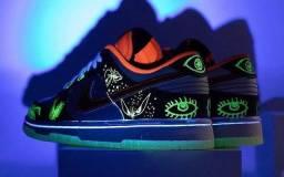 Título do anúncio: Tênis Nike Dunk Halloween 39BR
