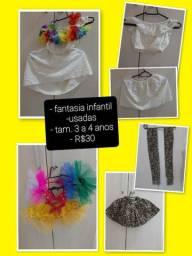 Vestidos infantis usados