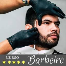 Título do anúncio:  Barbeiro Profissional, Quer Se Tornar Um? Curso Profissional de Barbeiro Online Completo