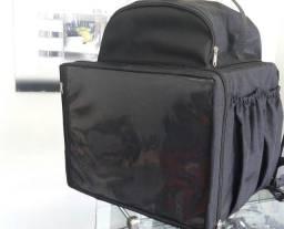 Bolsão bag para entregas de lanches .