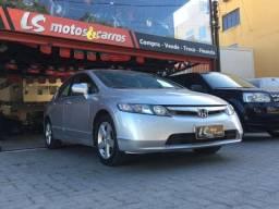 Honda civic Lxs 1.8 Ano 2007