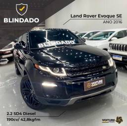 Título do anúncio: RR Evoque 2.2 SE Diesel 2016 BLINDADA BSS